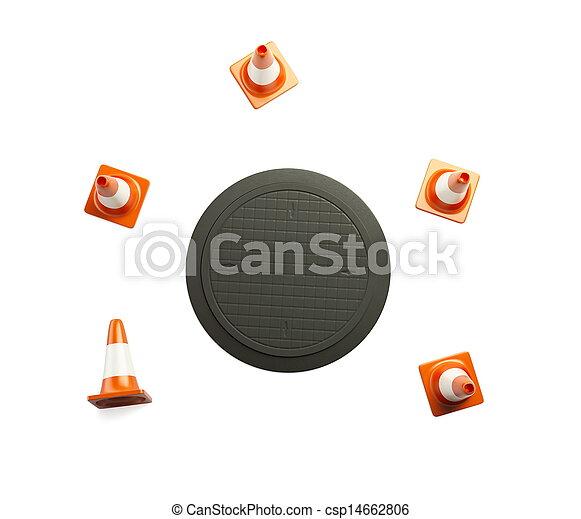 under construction - csp14662806