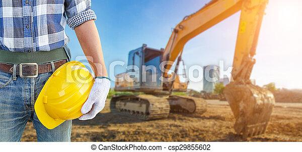 Under construction - csp29855602