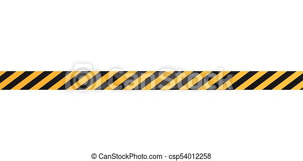 under construction tape on a white background vector clipart rh canstockphoto com
