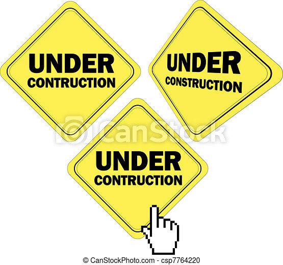 under construction - csp7764220