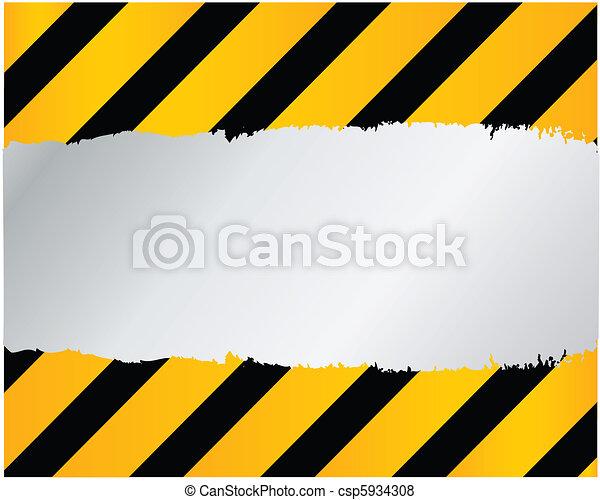 under construction - vector - csp5934308