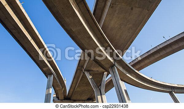 Under Express way - csp22931438