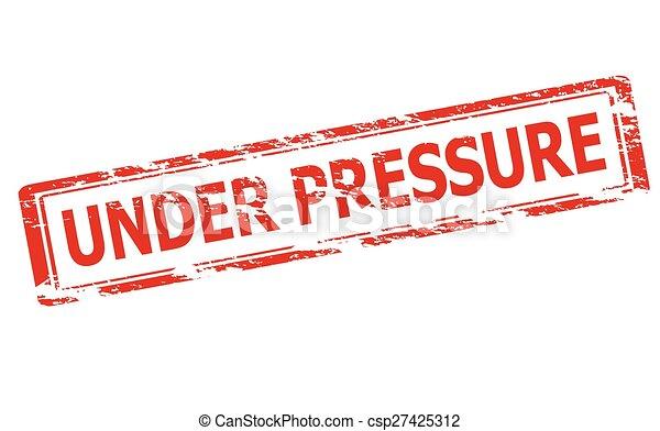 Under pressure - csp27425312