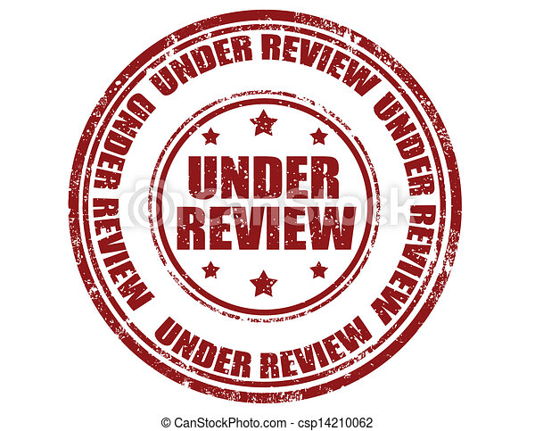 Under review-stamp - csp14210062