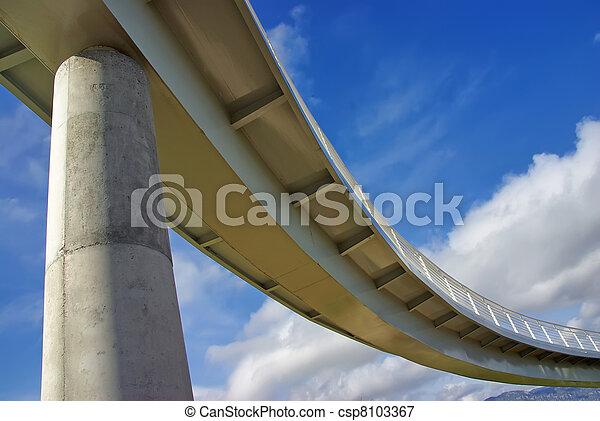 Under the bridge - csp8103367