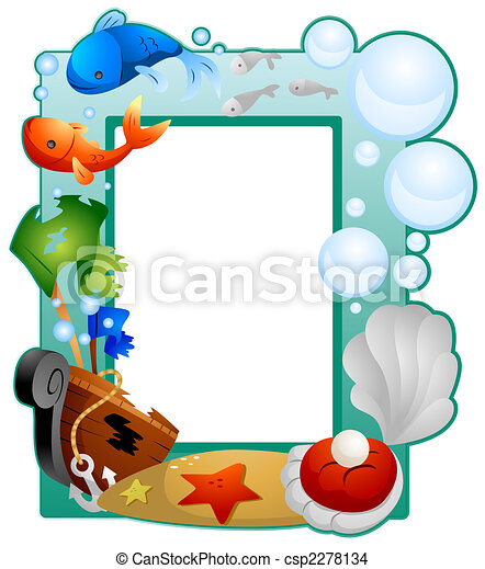 under the sea frame drawing search clip art illustrations and eps rh canstockphoto com under the sea clip art border under the sea clip art black and white set