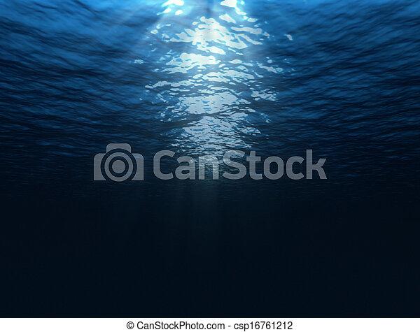 Under water - csp16761212