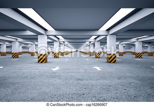 Underground parking - csp16266907