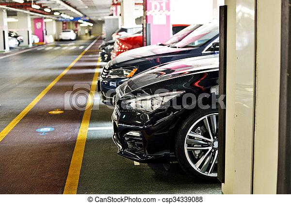Underground parking - csp34339088
