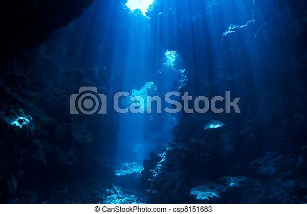 underwater background - csp8151683