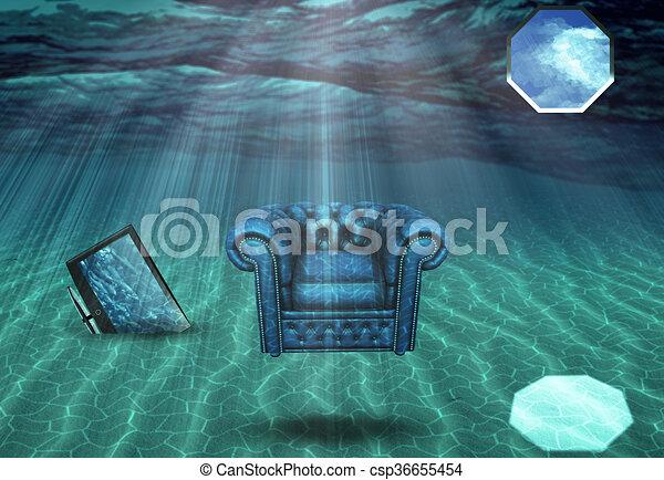 Exceptional Underwater Room   Csp36655454