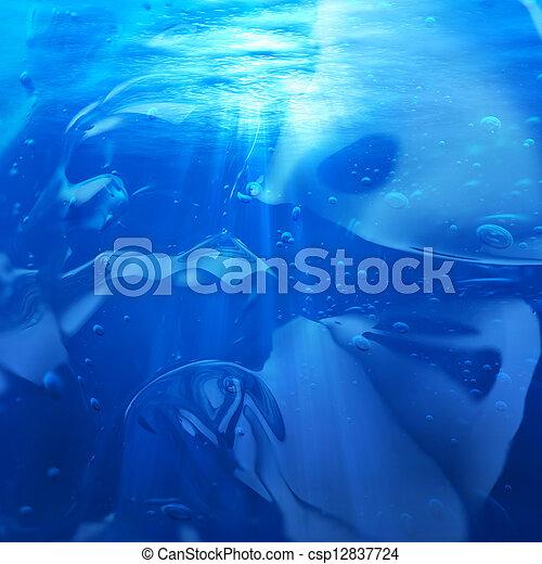 Underwater - csp12837724