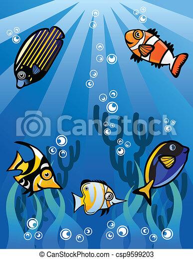Underwater world - csp9599203
