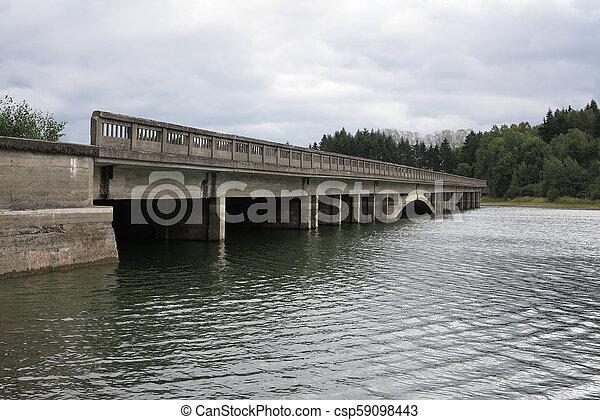 Unfinished highway bridges, Czech republic - csp59098443