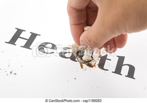 Unhealthy Living - csp1189283