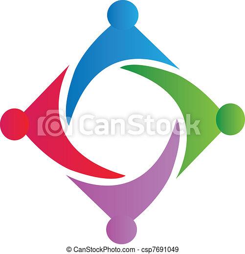 Logo símbolo de la Unión - csp7691049