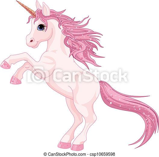 Unicornio mágico - csp10659598