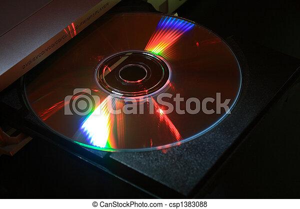 Disco disco con CD - csp1383088