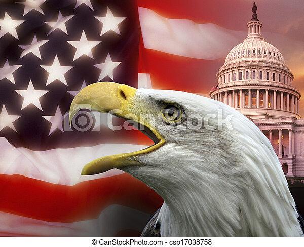 unidas, washington, -, dc, estados, américa - csp17038758
