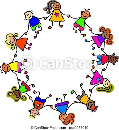 unido, niños - csp0257010