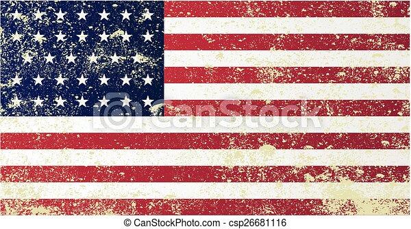 unie, civiel, vlag, oorlog - csp26681116