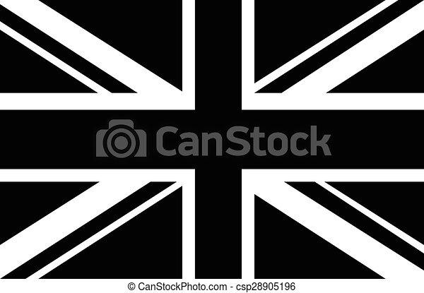 unie, witte , zwarte hefboom, & - csp28905196