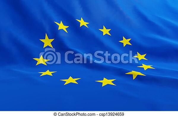 union, européen - csp13924659