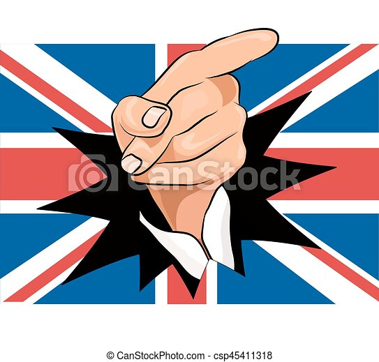 union jack with pointing finger vector clip art search rh canstockphoto co uk union jack vector graphic union jack vector graphic