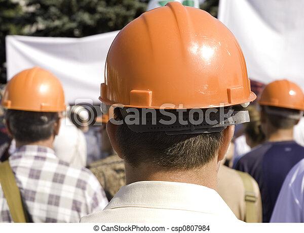 union, main-d'œuvre - csp0807984