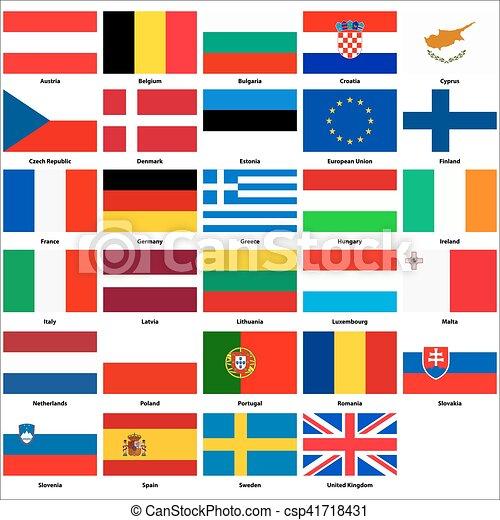 Foto Bandiere Europee