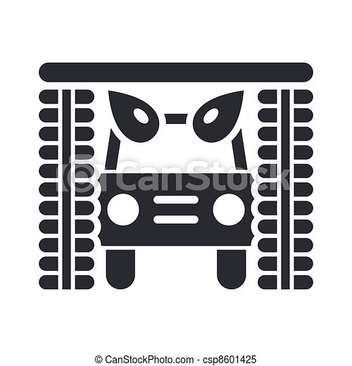 unique, vecteur, isolé, illustration, icône - csp8601425