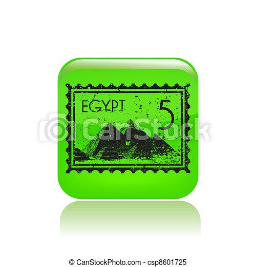unique, vecteur, isolé, illustration, icône - csp8601725
