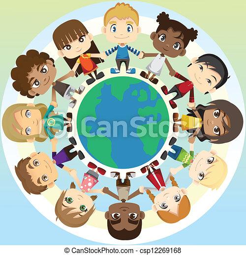 unité, enfants - csp12269168
