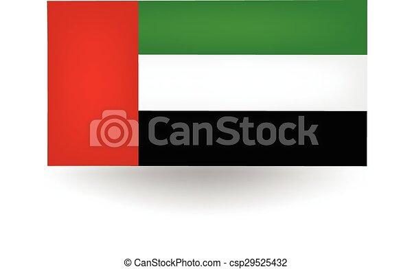 united arab emirates flag official flag of the united arab