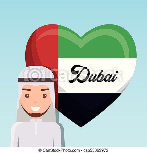 united arab emirates national flag - csp55063972
