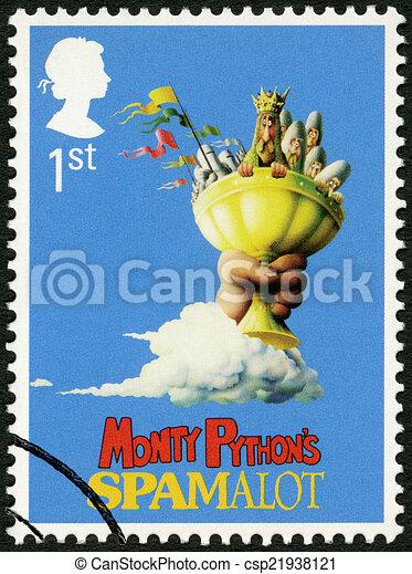 UNITED KINGDOM - 2011: shows Monty Python's Spamalot, series Mus - csp21938121