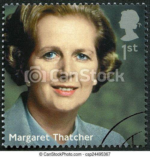 UNITED KINGDOM - 2014: shows Margaret Thatcher (1925-2013), poli - csp24495367