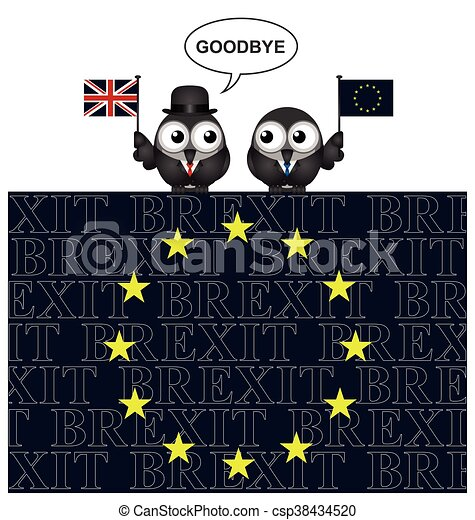 United Kingdom exit from the Europe - csp38434520