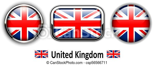 united kingdom flag buttons 3d shiny vector icons vector clip art rh canstockphoto ca buttons clipart black and white button clipart image