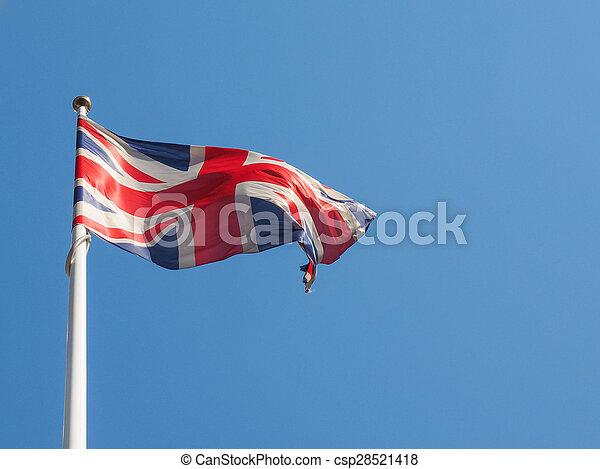 United Kingdom flag - csp28521418