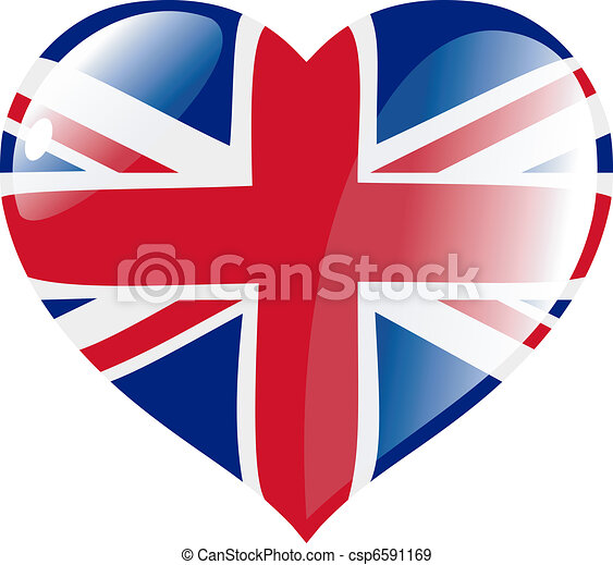 United Kingdom in heart - csp6591169