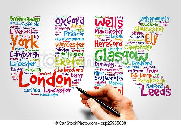 United Kingdom, travel concept - csp25965688