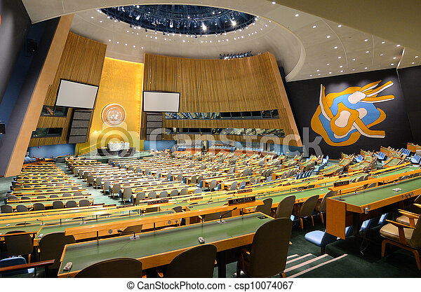 United Nations General Assembly - csp10074067