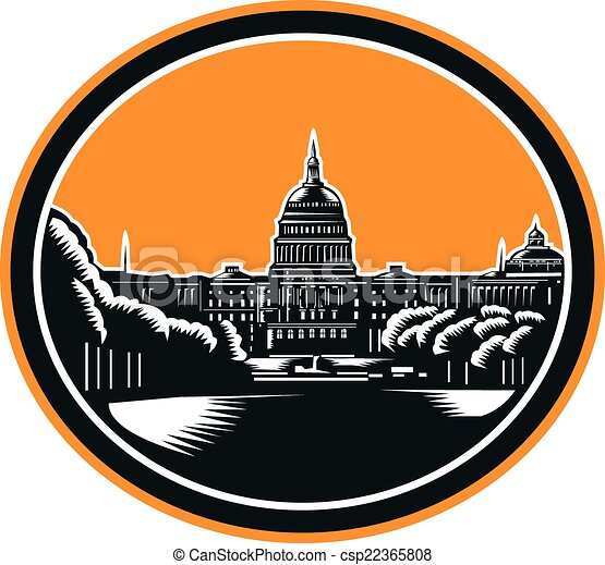 united states capitol building woodcut retro illustration of the rh canstockphoto ie capitol building clipart capitol building washington dc clipart