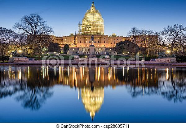 United States Capitol - csp28605711