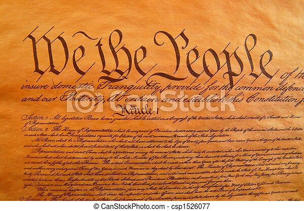 United States Constitution - csp1526077