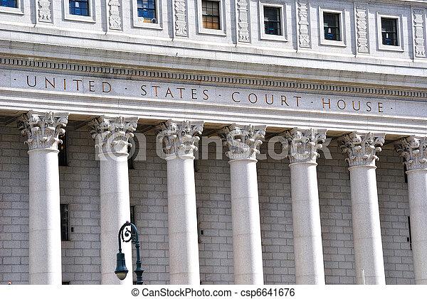 united states court house - csp6641676