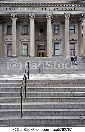United States Custom House - csp5762767