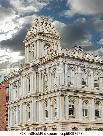 United States Custom House - csp59087973