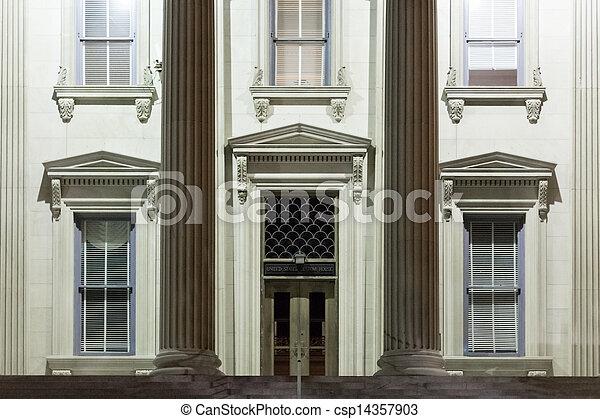 United States Custom House - csp14357903